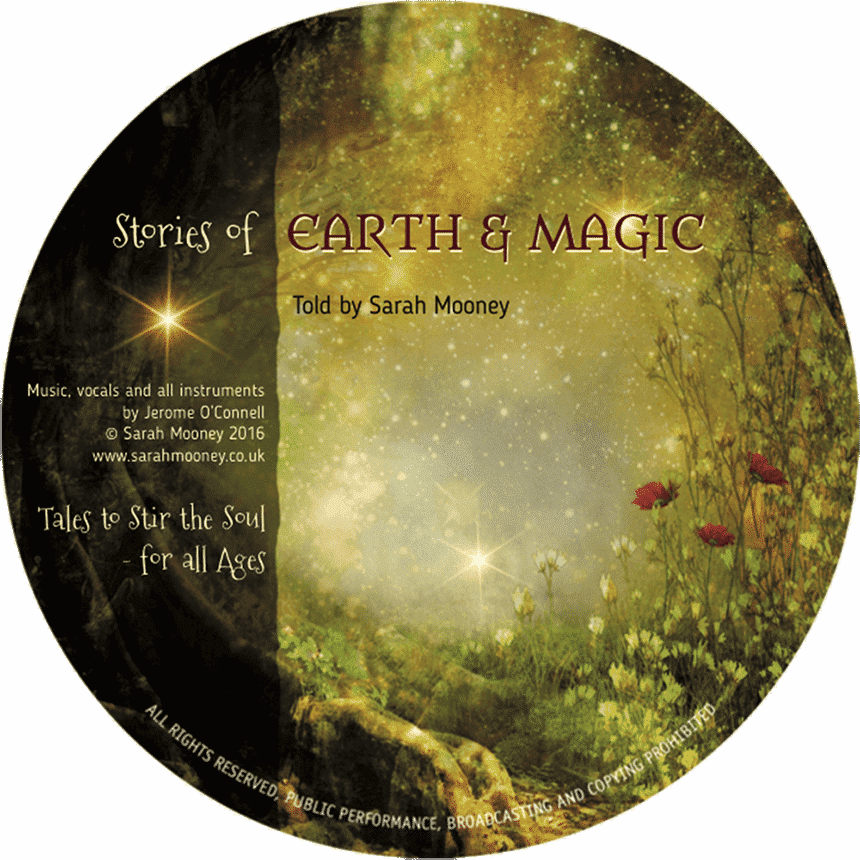 Sarah Mooney's CD, 'Stories of Earth & Magic'