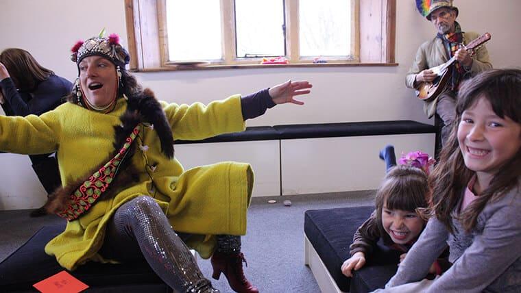 Telling stories for children
