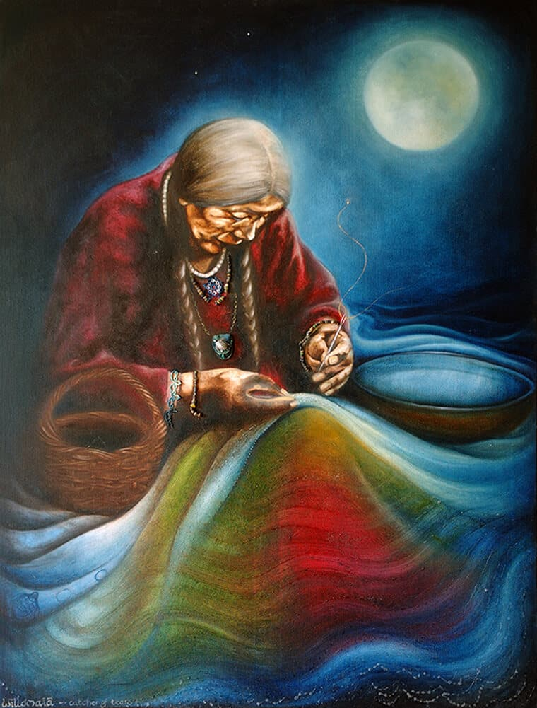 'Willomaiaa' copyright Dorrie Joy, Artist